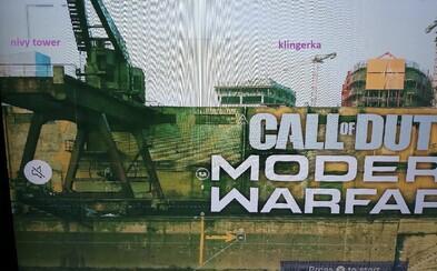 Bratislava by se mohla objevit v jedné z map hry Call of Duty: Modern Warfare