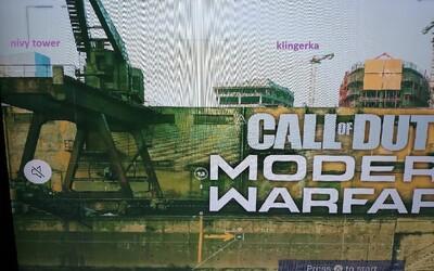 Objaví sa Bratislava v jednej z máp v Call of Duty: Modern Warfare? Na videu jasne rozpoznáš jej prístav