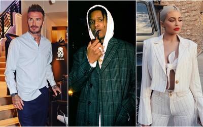 Obleč sa ako Kylie Jenner či David Beckham. Vyskladali sme luxusné outfity celebrít z dostupnejších kúskov