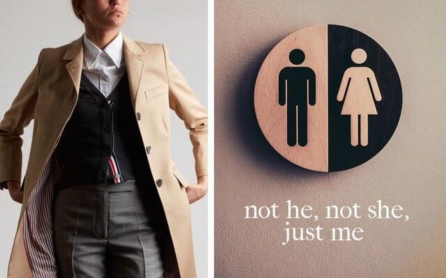 Oblečení nemá pohlaví. Unisex vytváří přitažlivost díky sexy kontrastu mezi nositelem a oděvem