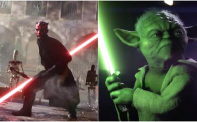Oblíbení hrdinové a padouši, velkolepé souboje a další úchvatné záběry dělají ze Star Wars Battlefront II jednu z nejočekávanějších akcí roku