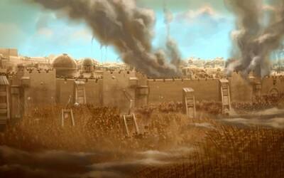 Obliehanie Jeruzalemu (70 n. l.) : Smrť 1 100 000  ľudí v sutinách posvätného mesta