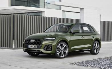 Obľúbené Audi Q5 dostalo unikátne OLED svetlá, nový infotainment aj úsporný turbodiesel