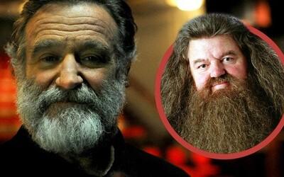 Obľúbený Hagrid mohol vyzerať úplne inak. Robin Williams rolu nezískal a nesplnil si svoj sen