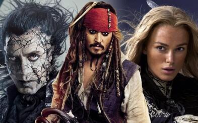 Obľubuješ dobrodružstvá Jacka Sparrowa a videl si všetky filmy Pirátov Karibiku hneď niekoľkokrát? Tak otestuj svoje vedomosti (Kvíz)