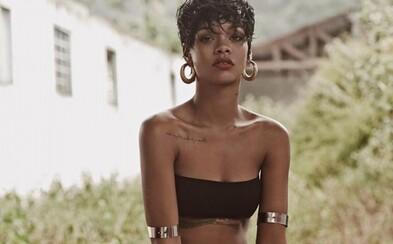 Obnažená princezná Barbadosu, Rihanna a celá séria záberov z Vogue Brasil