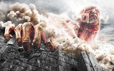 Obří lidožraví titáni napadnou poslední zbytky lidstva v hollywoodském remaku japonského Attack on Titan