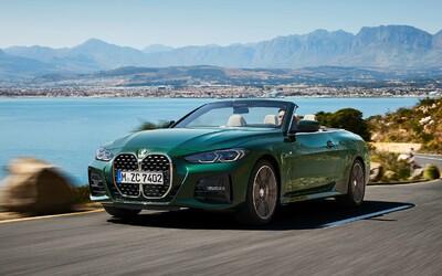 Obrovské, vertikálne ľadvinky dostáva už aj 4-kový kabriolet BMW, ktorý prvýkrát prichádza s plátenou strechou