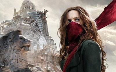 Obrovský pohybujúci sa Londýn v epickom fantasy Mortal Engines od Petera Jaksona hrozí zánikom ostatným mestám