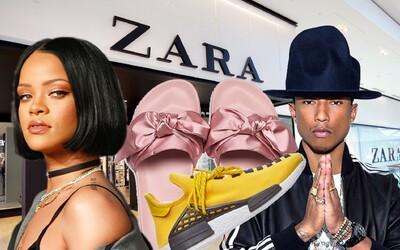 Obuvní kopírky ze Zary přinášejí Fenty od Rihanny, Pharrellovy NMD tenisky a mnohem více