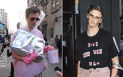 Obyčajný muž si obliekol tie najhoršie outfity a aj tak sa stal hviezdou Fashion Weeku v Londýne