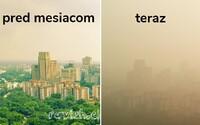 Obyvateľov Indie dusí obrovský mrak smogu. V niektorých miestach je viditeľnosť len pár metrov