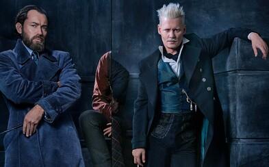 Očakávaná fantasy Fantastic Beasts: The Crimes of Grindelwald s Judom Lawom a Johnnym Deppom sa predstavuje prvým obrázkom a videom