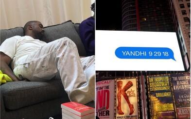 Očakávaný YANDHI aj napriek obrovskému promu dátum vydania nedodržal. Kanye West si však oficiálne zmenil umelecké meno