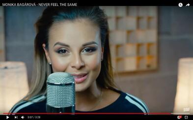 Očarujúca Monika Bagárová sa v plnej kráse predstavuje vo videoklipe na svoju novinku Never feel the same