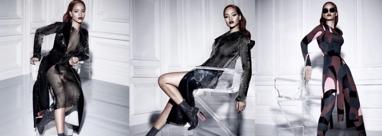 Očarujúca Rihanna sa na najnovších fotografiách odela do priehľadných šiat, ktoré viac odhaľujú, ako zakrývajú