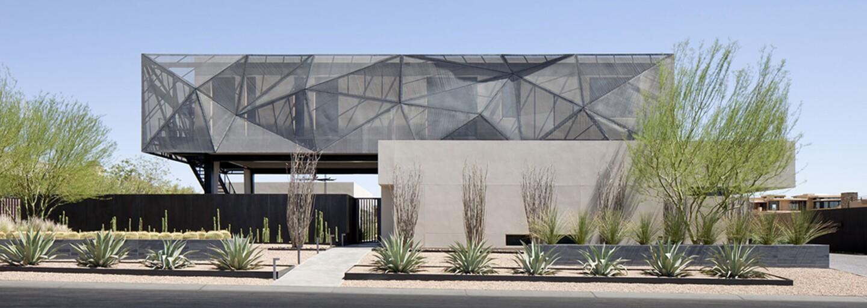 Očarujúcej rezidencii dominujú otvorené priestory. Leží na okraji Las Vegas a majiteľ si môže užívať dokonalý výhľad