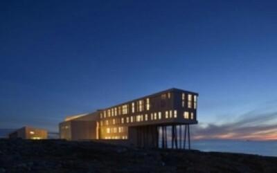 Očarujúci ostrovný hotel v Kanade