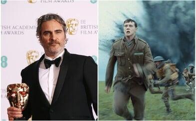 Ocenenia BAFTA ovládlo 1917. Sošku za Jokera si prevzal aj Joaquin Phoenix, ktorý kritizoval ignoráciu farebných ľudí a rasizmus