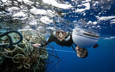 Ochranáři z oceánů vytáhli 40 tun rybářských sítí. Zachránili tak tisíce delfínů či želv