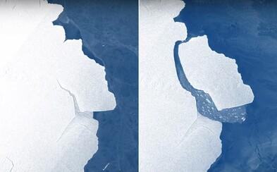 Od Antarktidy se oddělil ledovec větší než Londýn, váží asi 315 miliard tun