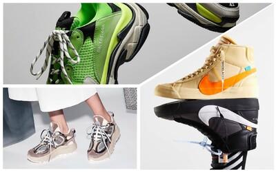 Od skateboardových siluet až po high fashion. Týmito teniskami neurobíte krok vedľa