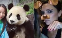 Od tejto pandy sa ešte máme čo učiť! Pri fotení selfie predviedla vrelý úsmev a asistovala aj so záberom