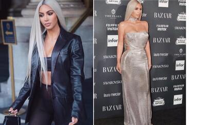 Odfarbená Kim Kardashian svojimi najnovšími outfitmi opäť šokuje. Denne sa ukazuje v archívnych kúskoch luxusných dizajnérov