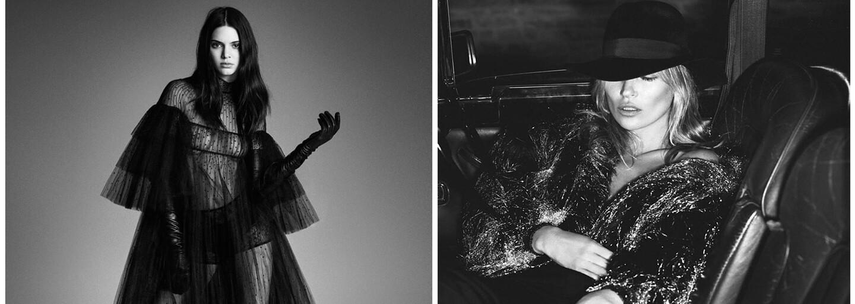 Odhalená Kendall Jenner a Kate Moss hviezdami posledných vydaní najznámejšieho módneho magazínu