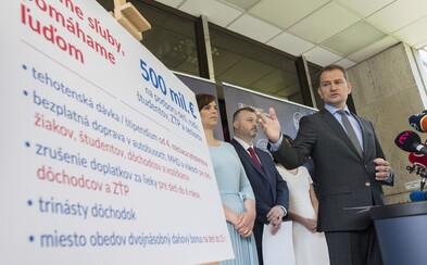 Odkiaľ zoberie vláda Igora Matoviča 500 miliónov na autobusy zadarmo, trináste dôchodky a doplatky za lieky?