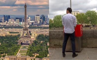 Odkryté pisoáry v ulicích Paříže znechutily místní. Nechtějí z oken sledovat močící muže