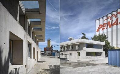 Odlitek z betonu získává cenu za nejlepší architektonický projekt v Česku