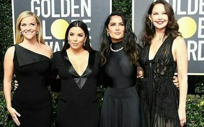 Odovzdávanie cien Zlatý glóbus ovládla čierna farba. Herečky podporili boj proti sexuálnemu obťažovaniu
