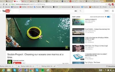 Odpadkový kôš, ktorý sa plaví po moriach a automaticky zbiera odpad. Užitočný nápad pretvárajú dvaja kamaráti na realitu