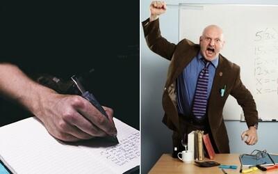 Odporný učitel ztrapnil žáka před stovkami lidí, když si zapomněl pero. Nikdo mu nevěřil, ale po měsících námahy vykopl profesora ze školy