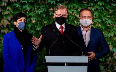 ODS, KDU-ČSL a TOP 09 budou v příštích parlamentních volbách kandidovat společně