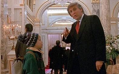 Odstraní Donalda Trumpa z filmu Sám doma 2? Petici podpořil i Culkin, který ztvárnil postavu Kevina