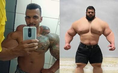 Odtrhnem ti hlavu, odkazuje brazílsky Hulk tomu iránskemu. V MMA by dvaja bojovníci urobili obrovskú šou