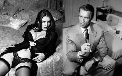 Odvážne fotografie mladých celebrít idú do dražby. Schwarzenegger či Zeta Jones netušili, ako ich kariéra dopadne