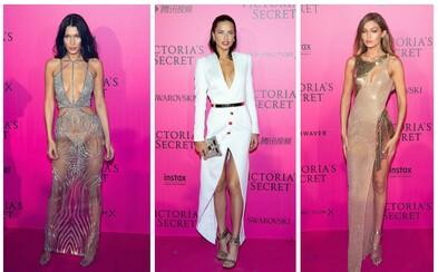 Odvážné outfity, ve kterých se předvedly krásky na Victoria's Secret afterparty, stály za to