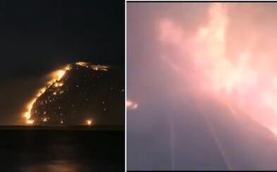 Odvážny ruský rušňovodič previezol vlak cez ohnivé peklo na Sibíri