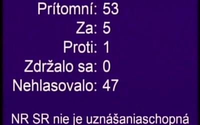 Odvolávanie Igora Matoviča presunuli na stredu. Poslanci vrátane navrhovateľov odišli, podľa Fica a Pellegriniho má vláda strach