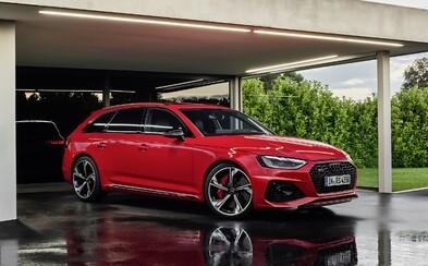 Ofenzíva pekelných modelov Audi pokračuje novou 450-koňovou RS4-kou Avant