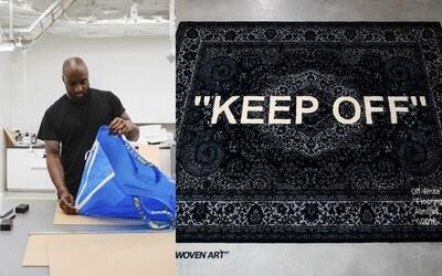 Off White koberec či iné bytové doplnky. Virgil Abloh a IKEA prichádzajú s netradičnou kolaboráciou