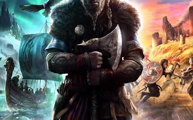 Oficiálne: V Assassin's Creed Valhalla budeme hrať za vikinga. Ubisoft láka na pokračovanie úspešnej série