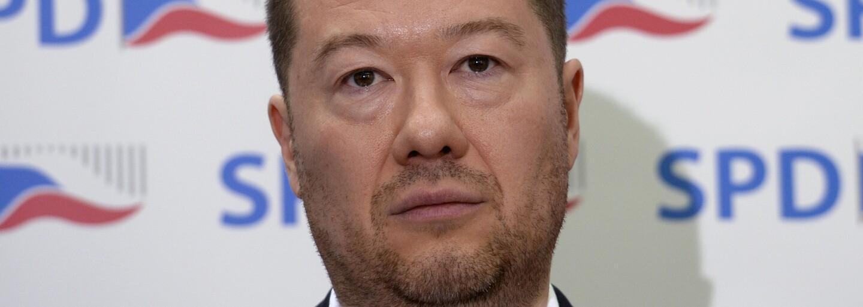 Okamura půjde do vlády, jen pokud bude možné referendum o vystoupení z EU, případně NATO. Řekl to Zemanovi