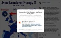 Okamurův příspěvek o evropských dotacích označil Facebook a Instagram jako částečnou nepravdu