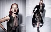 Okouzlující Rihanna se na nejnovějších fotografiích oděla do průhledných šatů, které odhalují více, než zakrývají