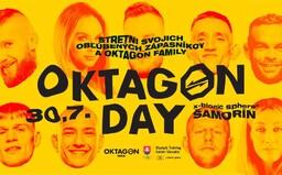Oktagon Day: Pozývame ťa na stretnutie do klietky s Gáborom Borárosom, Pirátom Krištofičom aj Iljom Škondričom