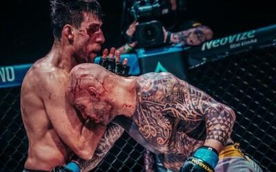 Oktagon MMA má nového šampiona! První velkolepá akce roku byla plná tvrdých zápasů